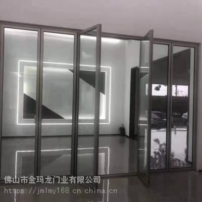 窄边重型折叠门 金意享58系列折叠门厂家价格 大折叠门