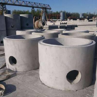 圆形水泥检查井供应 预制水泥检查井规格齐全 安洁水泥