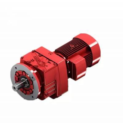 斜齿轮减速电机|R67DV112M4|| 沃旗 卧式安装齿轮箱