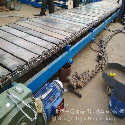 重物输送链板输送机型号专业厂家 链板爬坡输送机热销