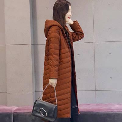 便宜折扣女装拿货 菲尚人冬装 轻薄羽绒服 低价品牌女装货源批发