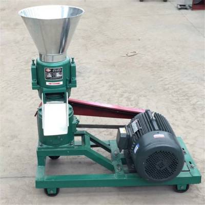 小型颗粒机 饲料机 家用加工鸡鸭鱼兔牛羊猪饲料制粒机械