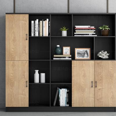 文件柜 办公室文件柜 木质资料柜 组合柜 背景书柜 更衣落地带锁柜子