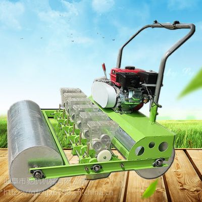 亚博国际真实吗机械 拖拉机带娃娃菜6行播种机 荠菜茼蒿娃娃菜播种机 小型蔬菜播种机
