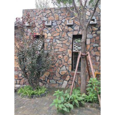 石屹大量供应虎皮黄文化石,芝麻黄蘑菇石,天然石材外墙砖,胶黏文化石
