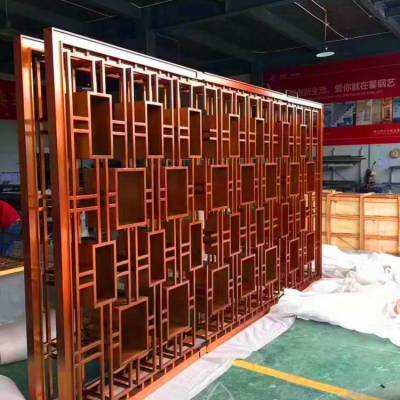 木纹铝型材窗花|雕刻造型木纹铝窗花厂家