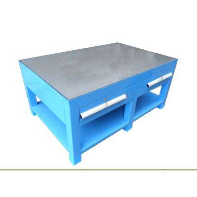 增城抽屉式钢板工作台价格,重型挂板工作台款式