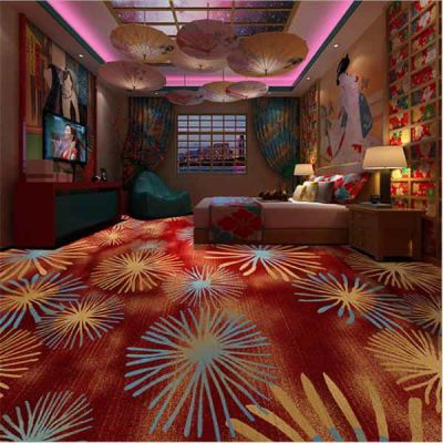 郑州地毯卧室床边满铺房间 隔音地毯 汽车 pvc割绒地毯