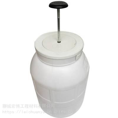 供应农村改厕化粪池配套蹲便器冲水桶
