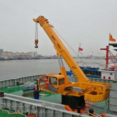 江苏连云港码头固定吊 6吨船吊价格 可根据客户需要定制
