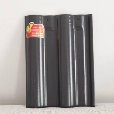 防水连锁瓦 民用平面瓦 全瓷双筒瓦 工程S瓦