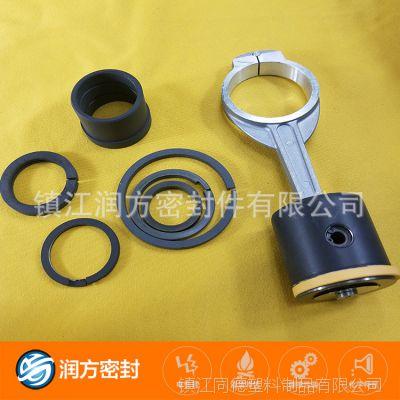 高压打气机耐磨环 黑色四氟圈 活塞环 四氟耐磨环 打气泵活塞环