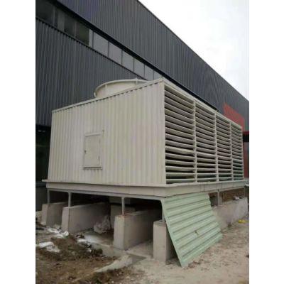 玻璃钢方形横流冷却塔供应-方形横流冷却塔-华隆风机