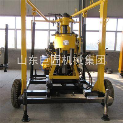 华夏巨匠XYX-130轮式岩芯钻机 拖挂式钻车 百米钻探设备