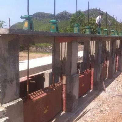 铸铁闸门的结构特点与工作原理