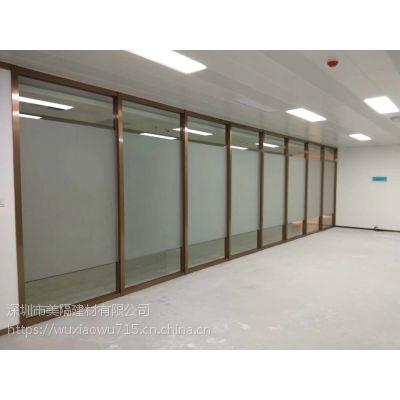 深圳办公室高间隔墙 办公室隔断 厂家做法