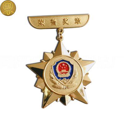 厂家定制金属徽章 锌合金烤漆透明漆纪念徽章 来图稿免费设计定做