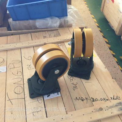 工业脚轮 聚氨酯材质 耐磨防滑稳定性好 耐高温 可定制