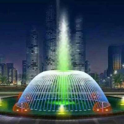 彩色音乐喷泉-唐县北方园林古建-廊坊音乐喷泉
