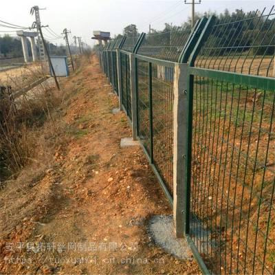 厂家供应铁路护栏网 8002铁路防护栅栏 铁路金属护栏