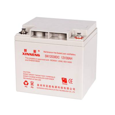 昕能蓄电池SN12033 XINNENG铅酸蓄电池12V33AH UPS电源蓄电池