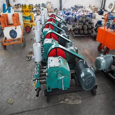 隧道用BW160卧式三缸注浆泵 BW160活塞式注浆机 BW160注浆泵