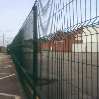 高速公路双边丝护栏网绿色现货双边丝护栏网厂家双边丝围栏网