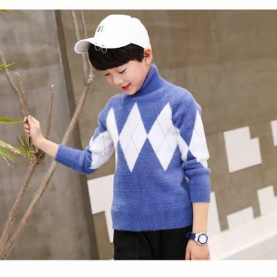 厂家批发库存童装韩版长袖杂款毛衣卡通字母圆领儿童毛衣地摊货源