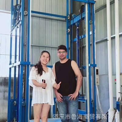 专业定制液压货梯亳州仓库液压货梯图片大全液压配件L