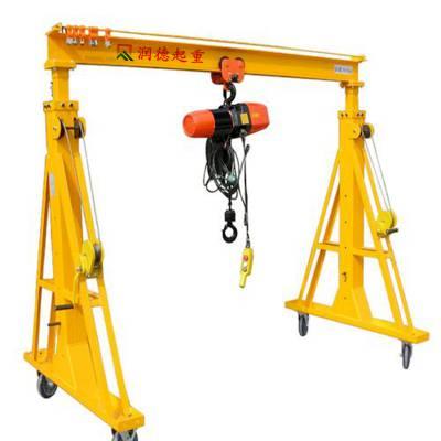 加工定做2t小型龙门吊价格 电动无轨龙门架厂家