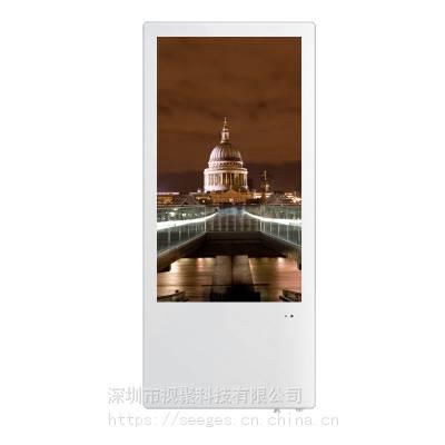 宁夏双屏19寸分众款超薄显示器广告机分众款广告机 高清显示屏现货