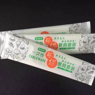 浙江海航可定制 纸巾筷子四件套打包机 筷子牙签勺子纸巾打包机