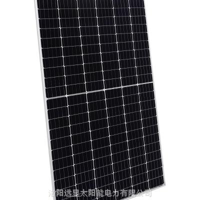 395W高效单晶半片组件|光伏板|光伏发电|光伏发电厂家|发电高