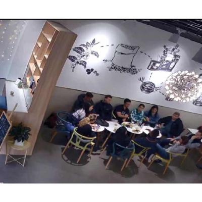 广州咖啡店墙画墙体彩绘