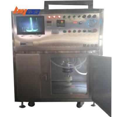 华青微波反应釜带搅拌常规压100升50升工业化生产微波合成反应釜