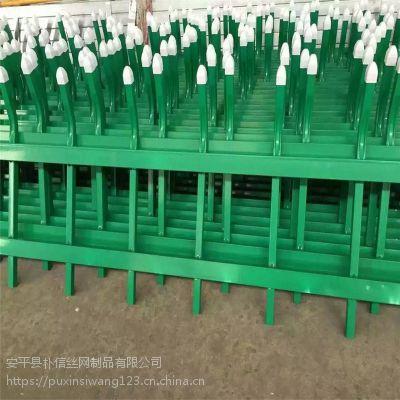 生产草坪锌钢护栏/园林花坛围墙隔离栏