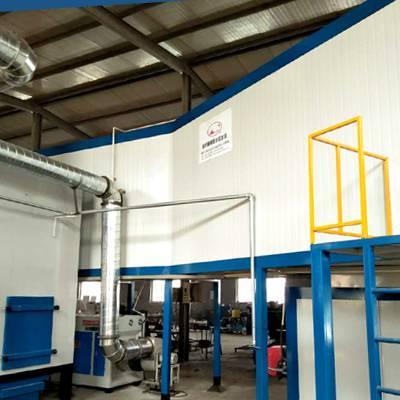 自动喷塑流水线,新月强化品质体系和环境保护