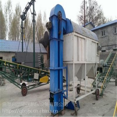 焊接斗垂直运料机 NE石料提升机 板链输送机