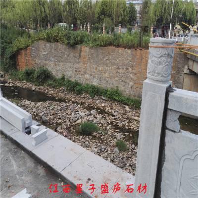 石材栏杆|河道石栏杆防护栏杆