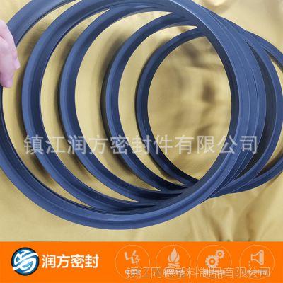 聚四氟乙烯耐磨改性碳纤维耐磨密封件 不损坏对磨材料 使用寿命长