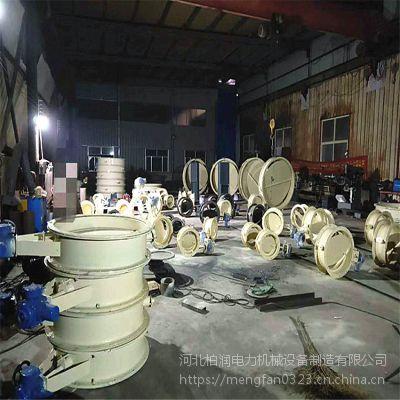 工厂直销 气动插板门 手动 气动密封风门 圆形挡板门