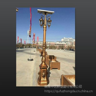 上海中达灯饰厂家 水泥仿古欧式照明太阳灯景观灯