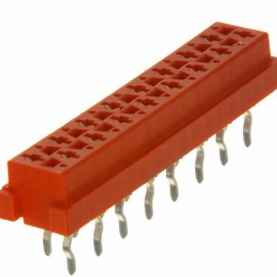 8-215079-6 - 板至板连接, 顶部进入, 1.27 mm, 16 触点, 插座, Mic