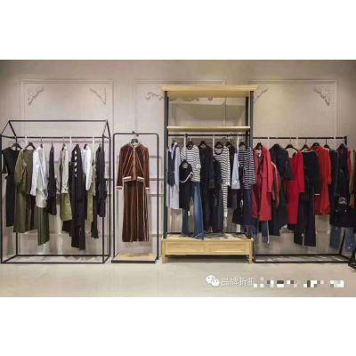 上海一线大牌熠净时尚品牌折扣尾货库存女装批发