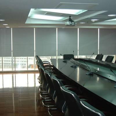 海淀办公窗帘定做遮光卷帘 防紫外线窗帘订做