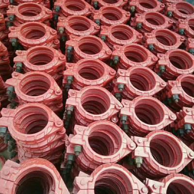 郑州混凝土输送泵125泵管卡扣管卡扣子