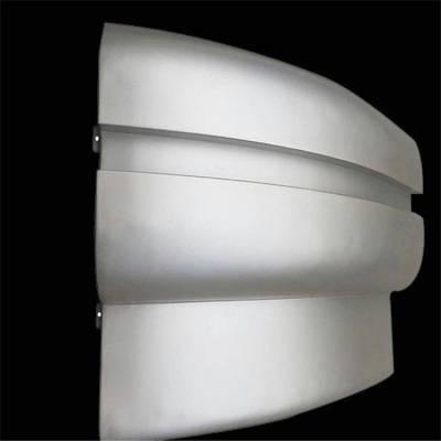 中山弧形穿孔透光铝单板氟碳金属幕墙门头雨棚铝板 厂家