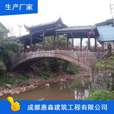 木结构抗氧化古建筑_成都惠森寺庙中式古建筑市场价格