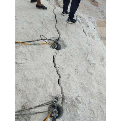 基础工程建设开挖石头地基开裂机
