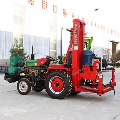 拖拉机改装正循环钻机 家用吃水井打井机 大口径正循环水井钻机 水文地质水井钻机